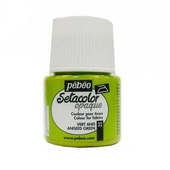 Краска для темных тканей анисовый 032 Setacolor Opaque Pebeo