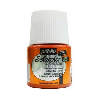 Краска для темных тканей кирпичный 063 Setacolor Opaque Pebeo