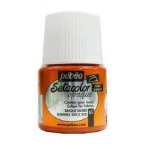 063 Краска для темных тканей кирпичный Setacolor Opaque Pebeo
