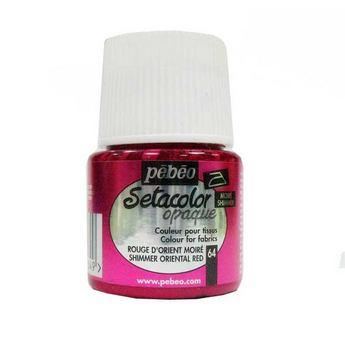 Краска для темных тканей красный восточный 064 Setacolor Opaque Pebeo