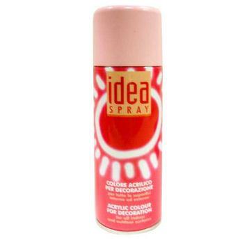 Аэрозольная краска Idea sprey цвет античный розовый №205, 200 мл