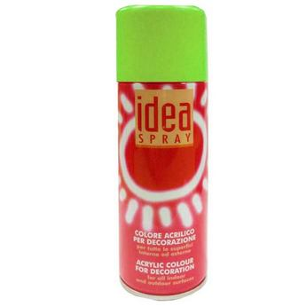 Аэрозольная краска Idea sprey цвет зеленый светлый №311, 200 мл