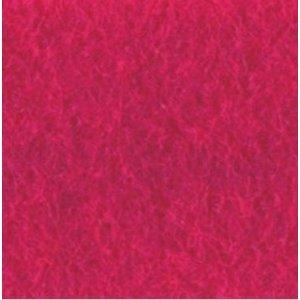 Фетр листовой 22,9х30,5 см, 2мм, цвет фуксия
