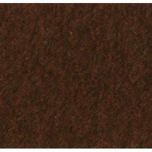 Фетр листовой 22,9х30,5 см, 2мм, цвет коричневый