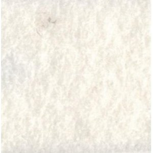Фетр листовой 22,9х30,5 см, 2мм, цвет белый