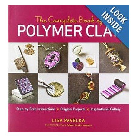 """Книга по лепке из полимерной глины """"The Complete Book of Polymer Clay"""""""