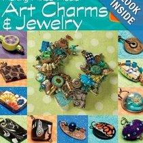"Книга по лепке из полимерной глины ""Making Mixed Media Art Charms and Jewelry"""