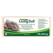 Полимерная глина для лепки кукол SCULPEY LIVING DOLL BABY (светлый), 454Г