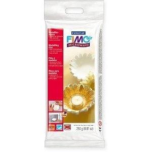 Самозатвердевающая пластика FIMO®air mikrovave, 250г, белый