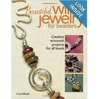 "Книга по созданию бижутерии ""Beautiful Wire Jewelry for Beaders: Creative Wirework Projects for All Levels"""