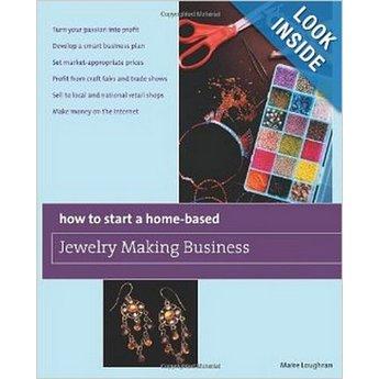 """Книга по созданию бижутерии """"How to Start a Home-Based Jewelry Making Business"""""""