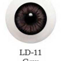 Акриловые глаза для кукол, цвет - карие, 12 мм. Арт. G12LD-11