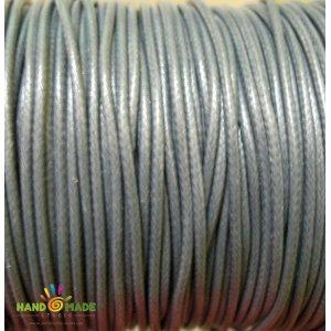 Шнур хлопок плетеный, цвет серый 2 мм