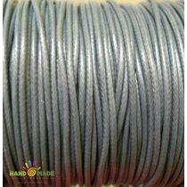 Шнур синтетический плетеный, цвет серый 2 мм, 1м.