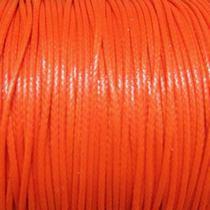 Шнур синтетический плетеный, цвет оранжевый 2 мм, 1м.