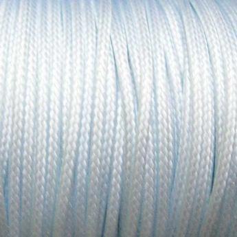 Шнур хлопок плетеный, цвет белый 2 мм