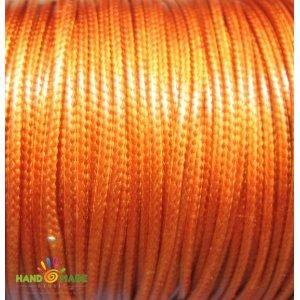 Шнур хлопок плетеный, цвет терракотовый 2 мм