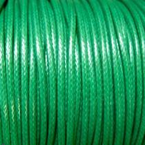Шнур хлопок плетеный, цвет зеленый 2 мм