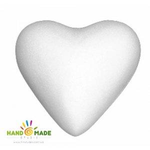 Сердце пенопластовое, 7 см