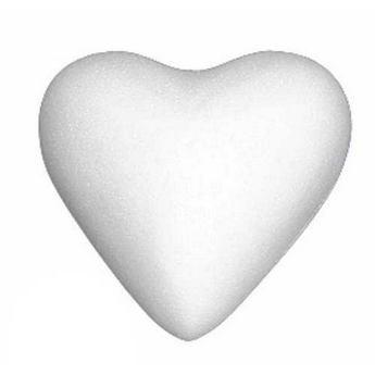 Сердце пенопластовое, 11 см