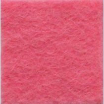 Фетр листовой 20х30 см, 2мм,  цвет розовый