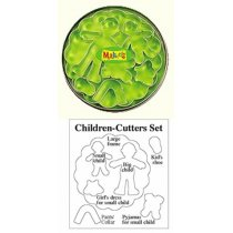 "Каттеры для глины Makin's Дети"", 7 шт"""