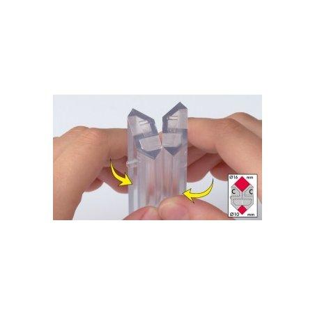 Роллер (жемчужница) для полимерной глины (Magic roller multi)