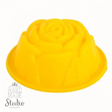 Силиконовая форма для мыла Роза, 7х3 см