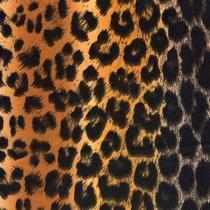 №066 Фетр листовой, цвет коричневый леопард