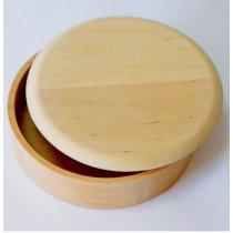 Шкатулка круглая, Ø 12 см
