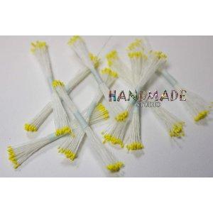 Цветочные тычинки белые