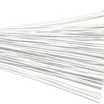 Проволока для стволов в тейп-ленте  белая, 16х12