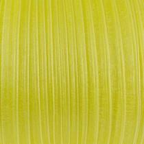 Органза, цвет желтый лимонный