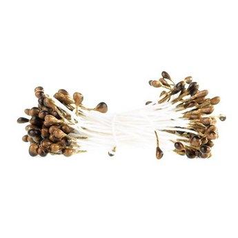 Цветочные тычинки светло-коричневые №76.1