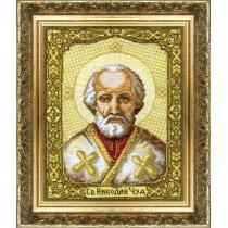 """Набор для вышивания крестом """"Икона святителя Николая Чудотворца"""" №253"""