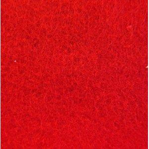 №015 Фетр листовой 22,9х30,5 см, 2мм, цвет красный Red