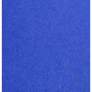 Фетр листовой 22,9х30,5 см, 2мм, цвет синий Brilliant Blue 015