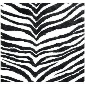 Фетр листовой 22,9х30,5 см, 2мм, цвет зебра №073