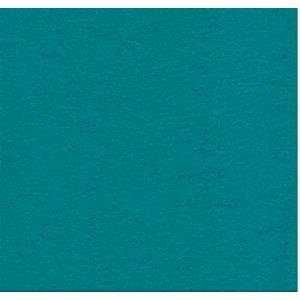 Фетр листовой 22,9х30,5 см, 2мм, цвет темно-бирюзовый Aqua 0046