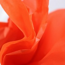 Бумага тишью, цвет - оранжевый