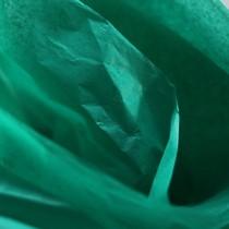 Бумага тишью, цвет - зеленый травяной, 50х70 см, 1 лист