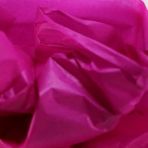Бумага тишью, цвет - малиновый, 50х70 см, 1 лист