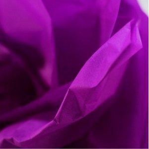Бумага тишью, цвет - фиолетовый