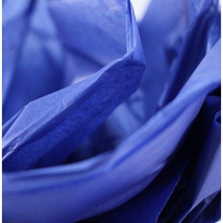 Бумага тишью, цвет - синий ультрамарин