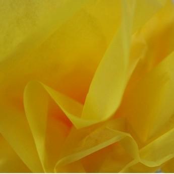 Бумага тишью, цвет -  желтый