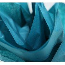 Бумага тишью, цвет - аквамарин, 50х70 см, 1 лист