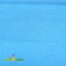 Бумага крепированная, цвет - голубой, Украина