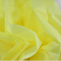 Бумага тишью, цвет - светло- желтый, 50х70 см, 1 лист