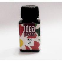 Краска для ткани Черный Idea Stoffa №530