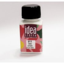 №011 Покрывная краска для ткани Белый Idea Stoffa